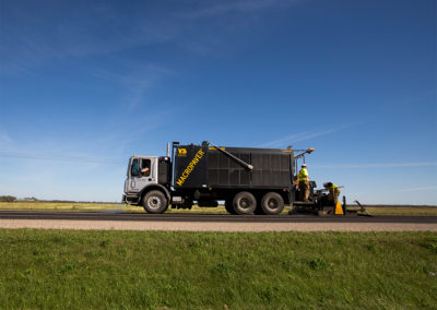Micropaving – City of Saskatoon, Saskatchewan Highways